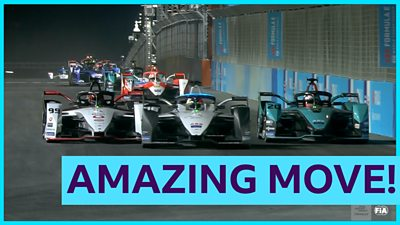 'The best move of Formula E' - Mortara gets two places in one go