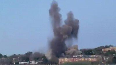 Bomb detonation