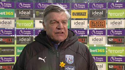 West Brom should have had penalty - Allardyce