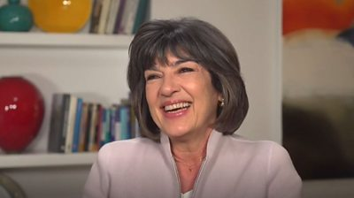 Christiane Amanpour, the chief international anchor of the news channel CNN, was interviewed by Oprah in 2005.