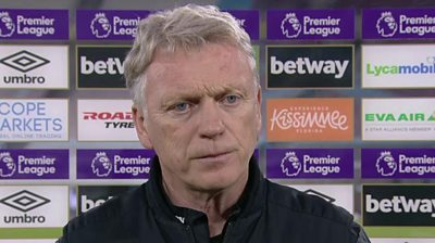 We didn't play well - Moyes on 'difficult' West Ham win