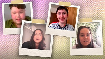 Four young Scots share how the coronavirus pandemic has impacted their lives over the past year.