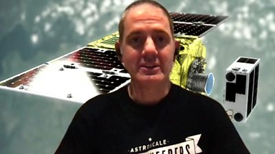 Chris Blackerby, chief operating officer Astroscale