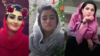 Three women journalists who were killed