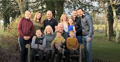 Family pictures on Covid anniversary