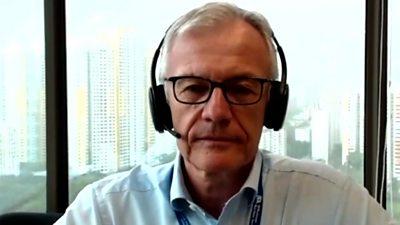 Carl Schou, CEO of Wilhelmsen Ship Management