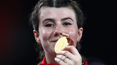 Hollie Arnold is the reigning Paralympic, World, European and Commonwealth champion in the F46 javelin.