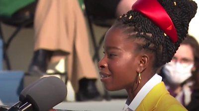 Inauguration poet Amanda Gorman: 'My life changed in six minutes'