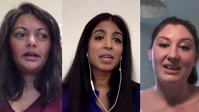 Three healthcare professionals talk about mental health