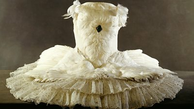 Historic Anna Pavlova ballet dress restored
