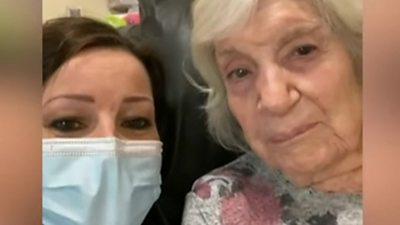 Still shows Ruthie Henshall and her mum Gloria