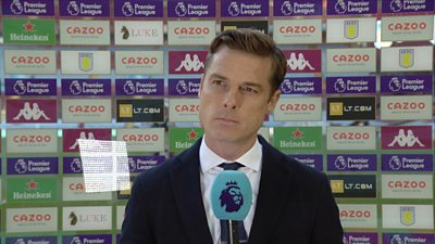"""Scott Parker """"disappointed"""" with the Fulham's performance against Aston Villa as the Cottagers concede three goals in the final 12 minutes."""