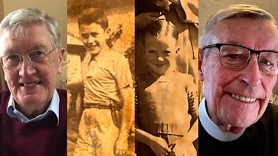 Jim Johnston from Belfast tracked down his long lost American pen pal after seven decades.