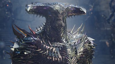 Steppenwolf in a scene from Jack Synder's Justice League
