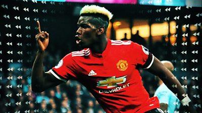 Paul Pogba celebrates