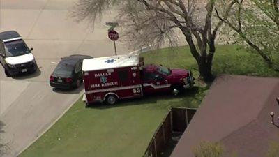 Ambulance in Dallas