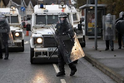 Why are riots happening in Belfast?