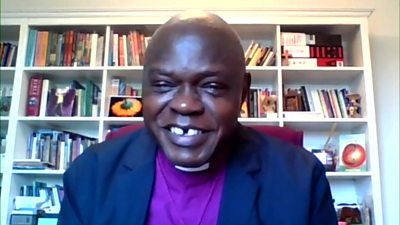 The former Archbishop of York, Dr John Sentamu