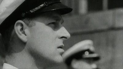 Prince Philip during his Royal Navy years