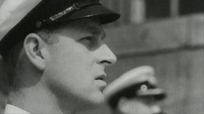 The Duke of Edinburgh in uniform