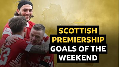 Catch up on all the goals from this weekend's Scottish Premiership