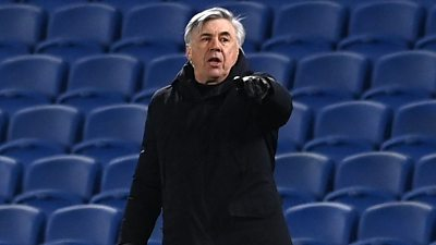 The attitude was good, the quality of play was not so good - Ancelotti