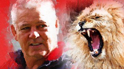 Warren Gatland British and Irish Lions coach