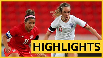 Highlights: England 0-2 Canada