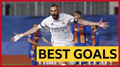 Benzema's 'superb' flick tops La Liga best goals