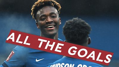 Watch all Chelsea's goals from their journey to FA Cup semi-finals