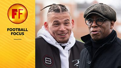 Kalvin Phillips and Ian Wright