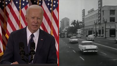 Where does President Biden's plan rank among the largest projects in American history?