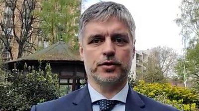 Vadym Prystaiko, Ukraine's ambassador to the UK