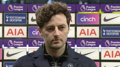 Tottenham 2-1 Southampton: Spurs were 'outstanding' during Saints win says Ryan Mason thumbnail