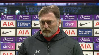 Tottenham 2-1 Southampton: We were 'not good enough' during Spurs defeat says Ralph Hasenhuttl thumbnail