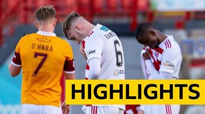 Highlights: Hamilton Academical 0-1 Motherwell