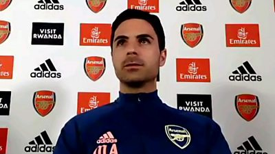 'The world reacted in a really unified manner' - Arteta