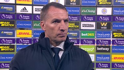 Leicester City 3-0 West Bromwich Albion: Brendan Rodgers praises Foxes