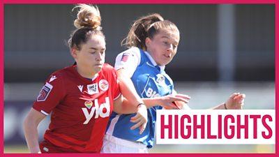 Women's Super League highlights: Birmingham 1-1 Reading