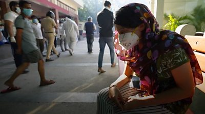 India is suffering critical shortages of medical equipment and oxygen amid a devastating surge in Covid-19 cases.