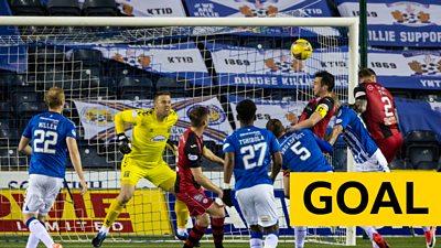 Scottish Cup: Joe Shaughnessy equalises for St Mirren against Kilmarnock
