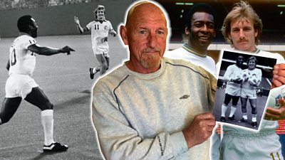 Steve Hunt played football with Pele