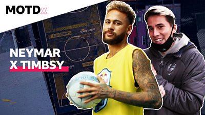 MOTDx: Timbsy plays five-a-side against Neymar thumbnail