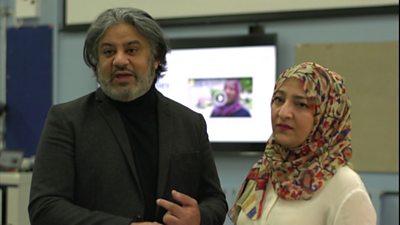 Hafsha Shaikh and Salim Shaikh