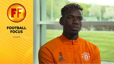 Football Focus: Manchester United have a team that can win the Premier League - Paul Pogba thumbnail