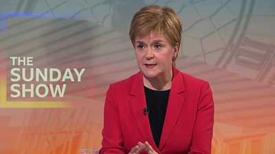 Scottish election 2021: Sturgeon says 'serious leadership' needed for Covid recovery