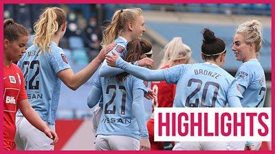 Women's Super League highlights: Manchester City 4-0 Birmingham thumbnail