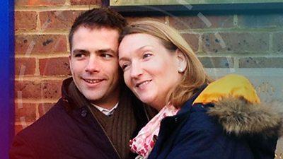 Dan Gearon and Liz Sizer