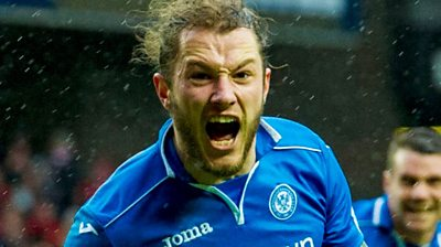 May double sends St Johnstone into their first final