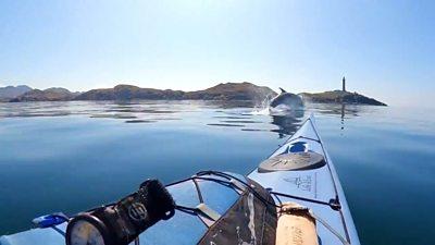 'Sea kayaking helps my mental health'